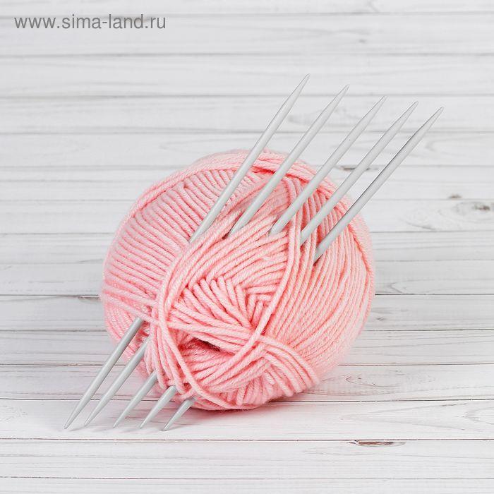 Спицы для вязания чулочные, 38222, d=5мм, 23см, 5шт