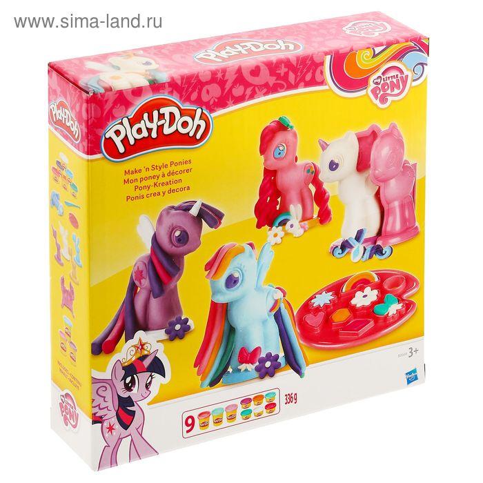 """Игровой набор для лепки """"Создай любимую Пони"""""""
