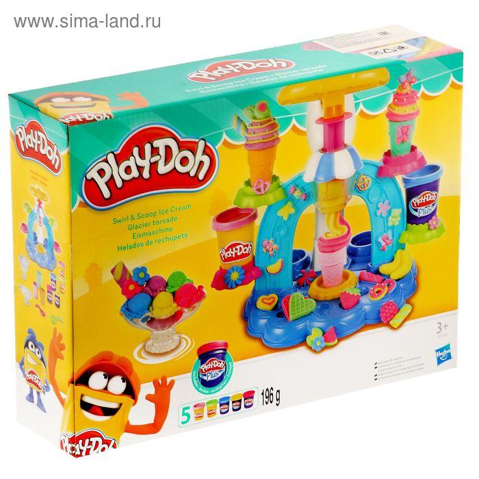 """Игровой набор для лепки """"Фабрика мороженого"""""""