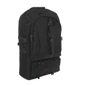 """Рюкзак туристический """"Путник"""", трансформер, 1 отдел, 3 наружных кармана, объём - 27л, чёрный"""