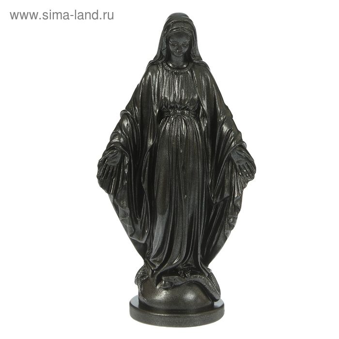 "Статуэтка ""Дева Мария"" металлик"
