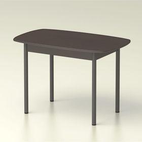 Стол обеденный  овальный 1160х710 венге