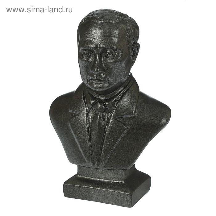 """Статуэтка """"Бюст Путина"""" малая, металлик"""