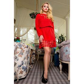 Платье женское 71180  цвет красный, размер 42 (S)
