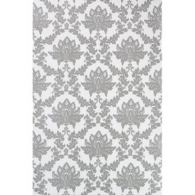 """Обои бумажные """"Каролина"""", черные (0.53 x 10.05 м)"""