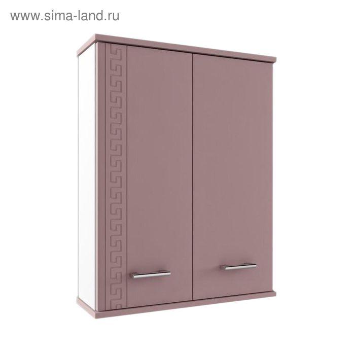 """Шкаф навесной """"Троя"""" 550, цвет кофе с молоком, глянец"""
