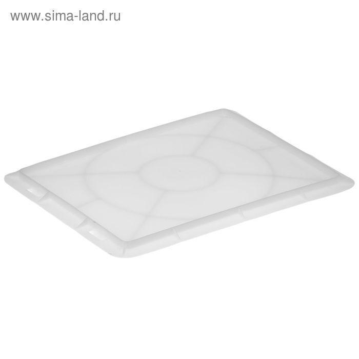 Крышка для сырково-творожного ящика, морозостойкая, цвет белый