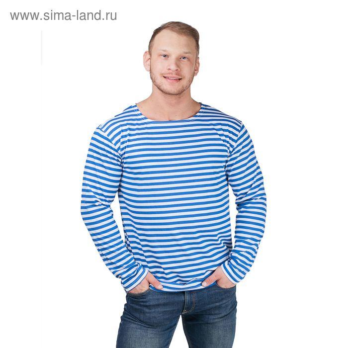 Тельняшка мужская синяя, р-р 58