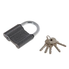 "Замок навесной ""АЛЛЮР"" ВС1Ч-470, дужка d=10 мм, 5 ключей"