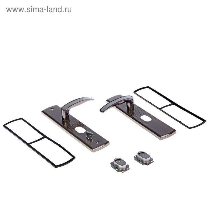 """Комплект ручек """"АЛЛЮР"""" РН-А222-1-L, универсальный, с подсветкой, левый"""