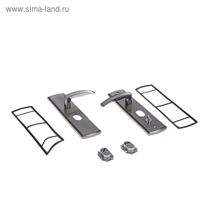 """Комплект ручек """"АЛЛЮР"""" РН-А222-1-Н70-R, универсальный, с подсветкой, правый"""