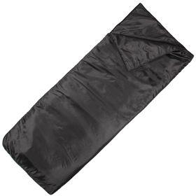 Спальный мешок-одеяло, синтепон 200, 185х70 см, цвет микс