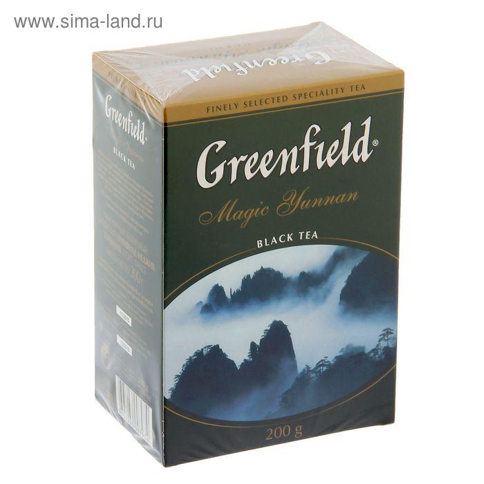 Чай черный Greenfield, Magic Yunnan, 200 г