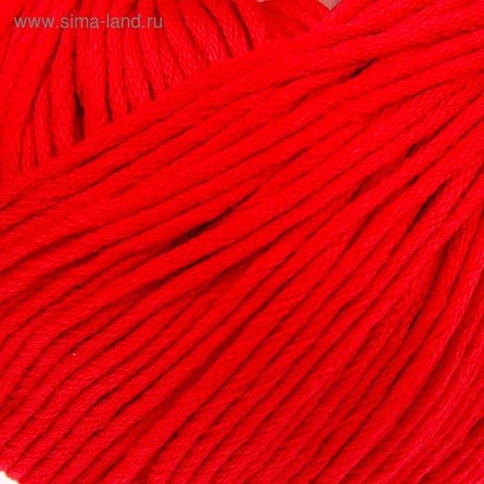 """Пряжа """"Подснежник"""" 100% мерсеризованный хлопок 110м/100гр (0043, красный)"""