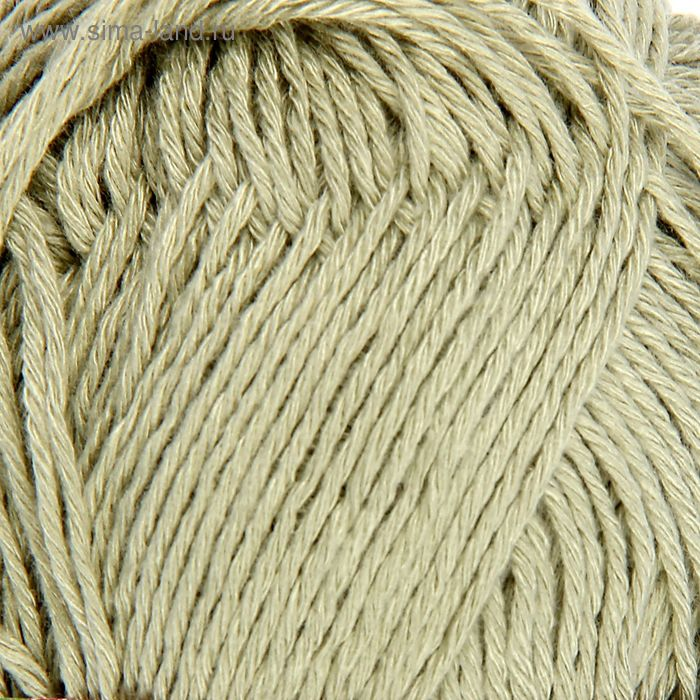 "Пряжа ""Бамбуковая"" 100% бамбук.волокно 130м/50гр (1582, ковыль)"