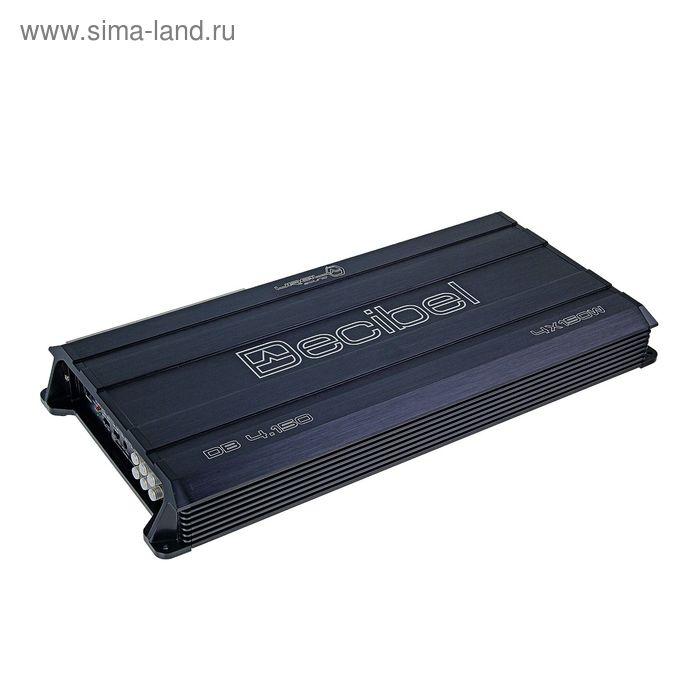 Усилитель Ural DB 4.150, четырехканальный, класс AB, 45х23х5.5 см