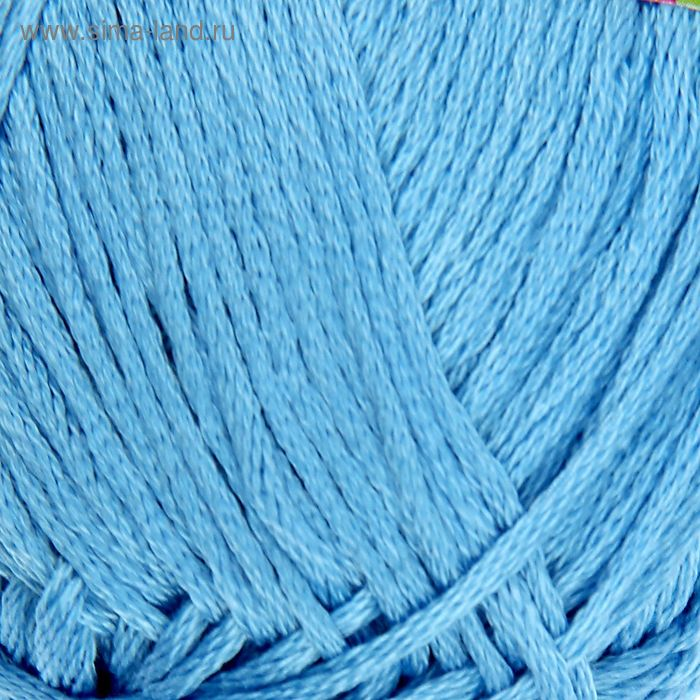 """Пряжа """"Ландыш"""" 100% мерсеризованный хлопок 115м/50гр (0305, светло-голубой)"""