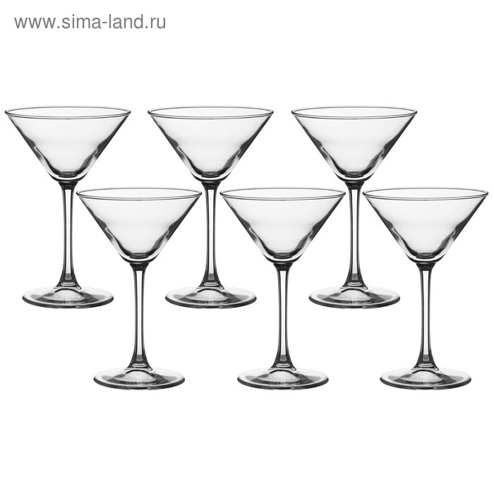 Набор фужеров для мартини 215 мл Enoteca, 6 шт