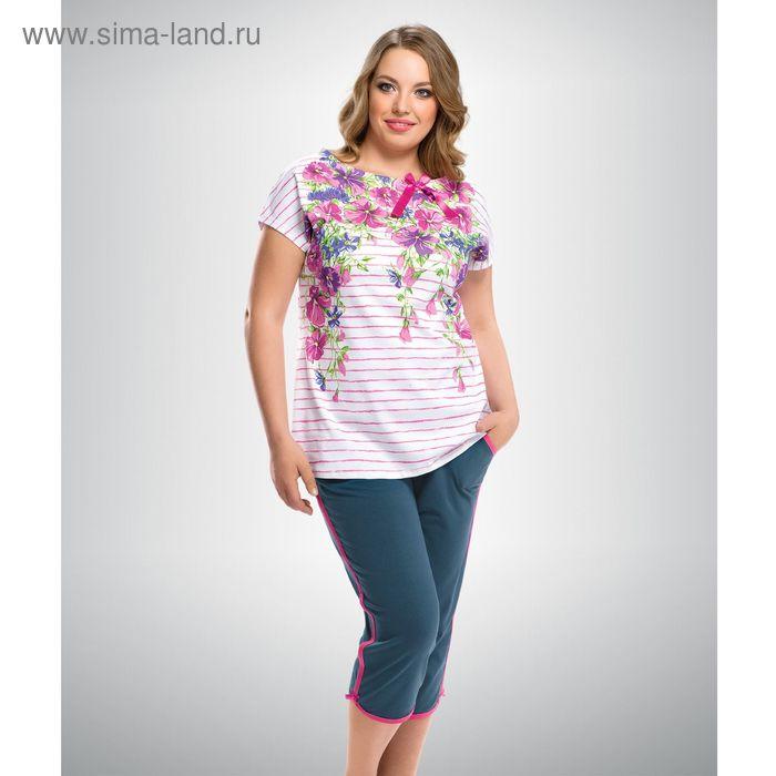 Пижама женская, цвет розовый, размер 48 (L) (арт. ZTB295)