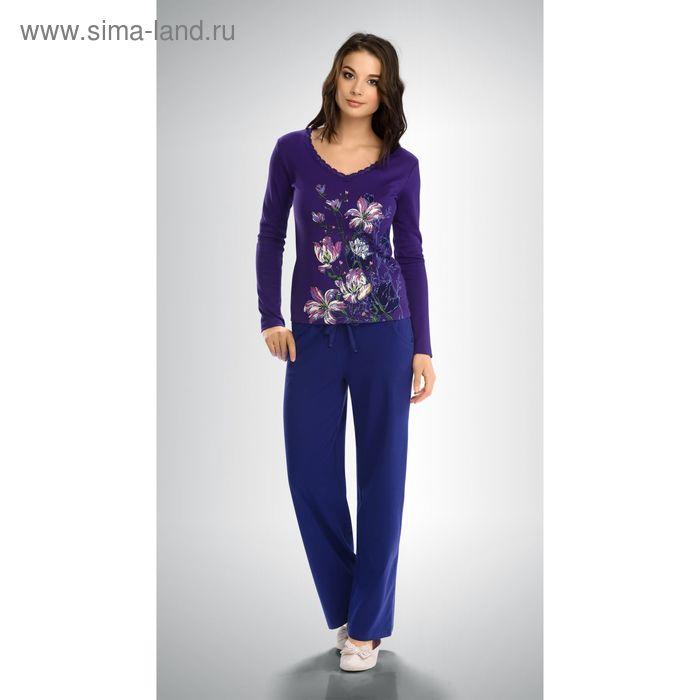 Пижама женская, цвет тёмно-голубой, размер 46 (M) (арт. PJP253)