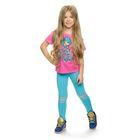 Брюки для девочки, рост 92-98 см, возраст 2 года, цвет голубой