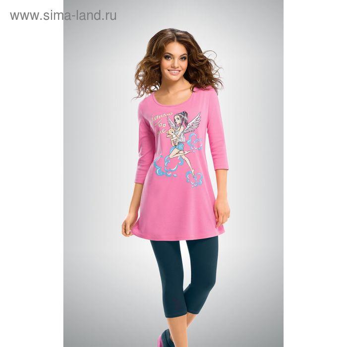 Пижама женская, цвет розовый, размер 44 (S) (арт. PML293)