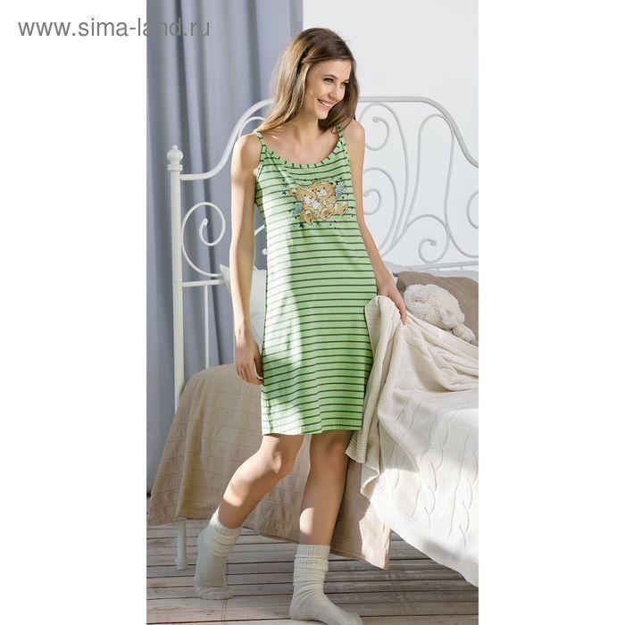 Сорочка женская, цвет зелёный, размер 50 (XL) (арт. PDV682)