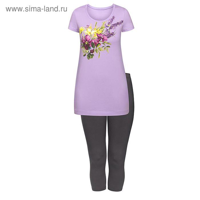 Пижама женская, цвет сиреневый, размер 44 (S) (арт. PML683)