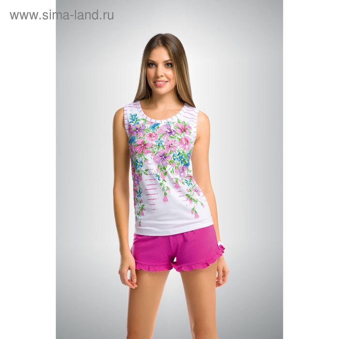 Пижама женская, цвет розовый, размер 48 (L) (арт. PVH290)