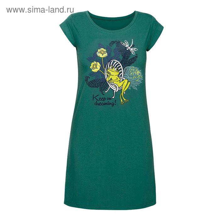 Сорочка женская, цвет зелёный, размер 48 (L) (арт. PDT680)