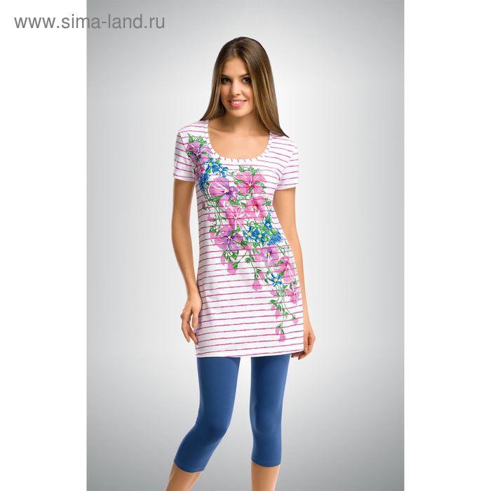 Пижама женская, цвет розовый, размер 42 (XS) (арт. PML290)