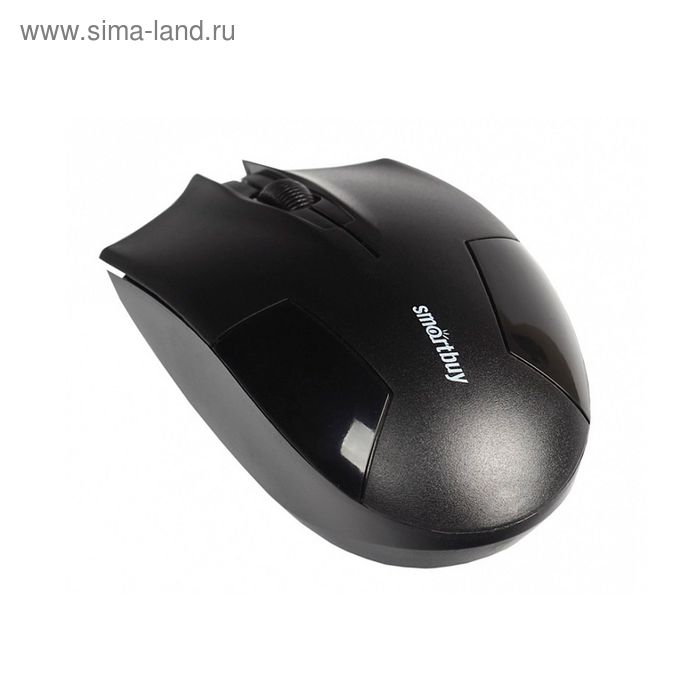 Мышь Smartbuy ONE 341AG, беспроводная, 1000 dpi, до 10 м, USB, чёрная
