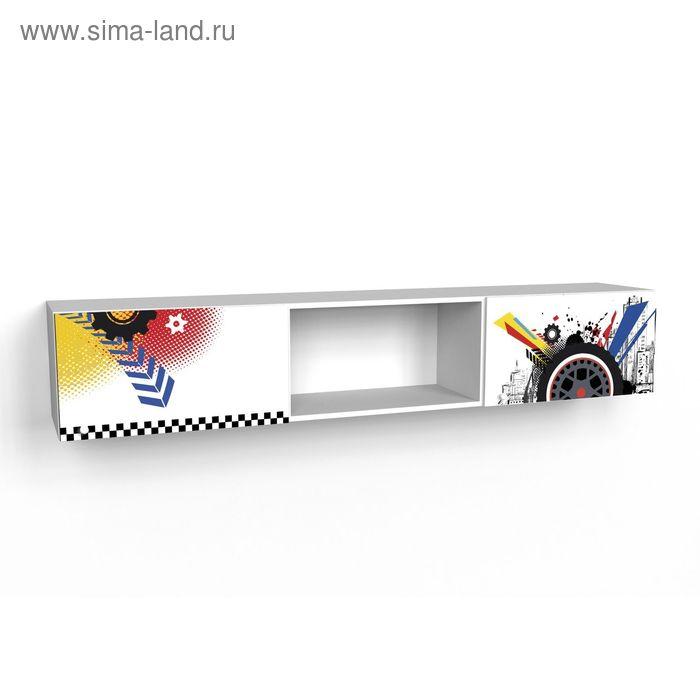 Шкаф многоцелевой надкроватный с двумя фасадами Экстрим 1942*360*316 Белый