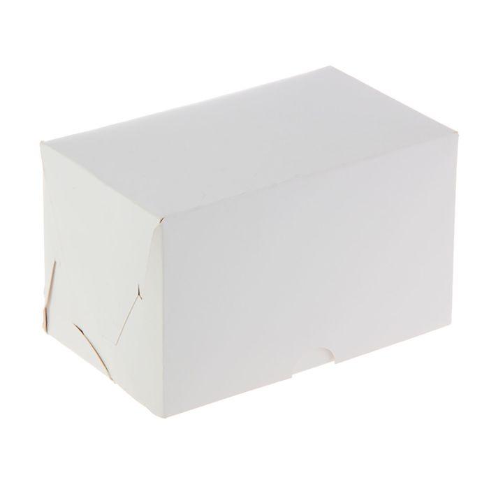 Кондитерская упаковка, короб под 2 капкейка, 10 х 16 х 10 см
