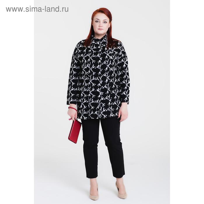 """Пальто женское на синтепоне """"Геля"""" С+, рост 168, размер 50, цвет снежинка"""