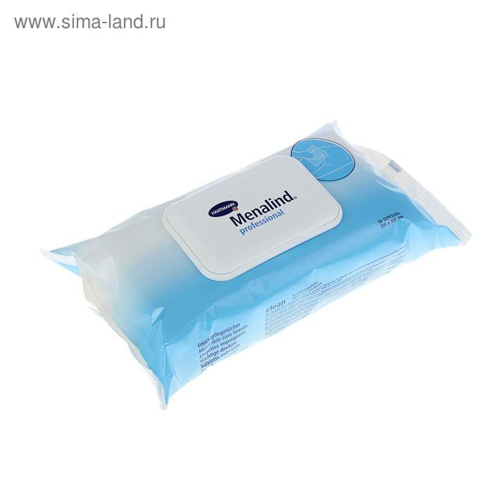 Салфетки влажные гигиенические Menalind professional, 50 шт