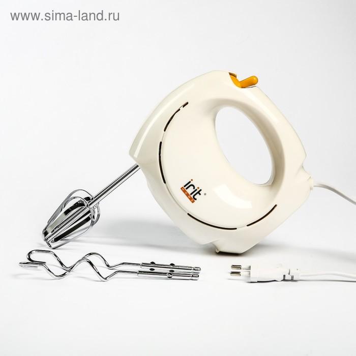 Миксер Irit IR-5406, 120 Вт, ручной миксер