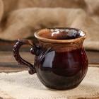 """Чашка кофейная """"Арго"""" коричневая, 0,3 л"""