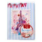 """Набор по декорированию паспортной обложки """"Париж"""", 13,5 х 20 см"""