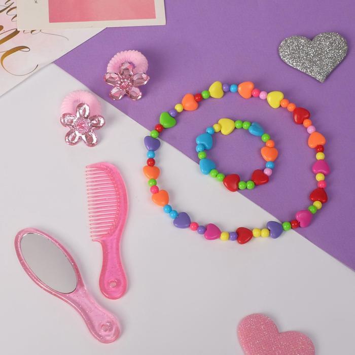 """Набор детский """"Выбражулька"""" 6 предметов, цветной"""