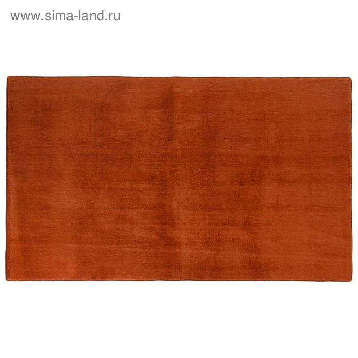 """Ковер с густым ворсом 120х60 см """"Джакомо"""", цвет коричневый"""