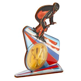 Награда спортивная 'Лыжник' Ош