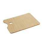 Палитра деревянная прямоугольная №5 20*30 см