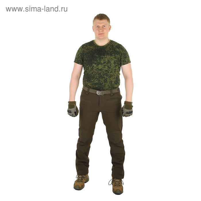 Брюки для спецназа МПА-41 (тк.Софтшелл) хаки (52/5)