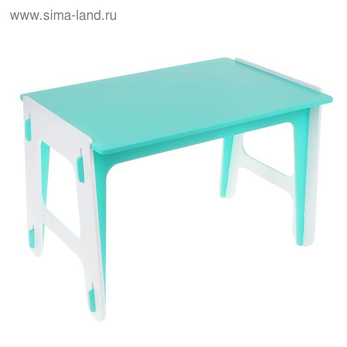 Детский стол ДШ №0, цвет зелёный