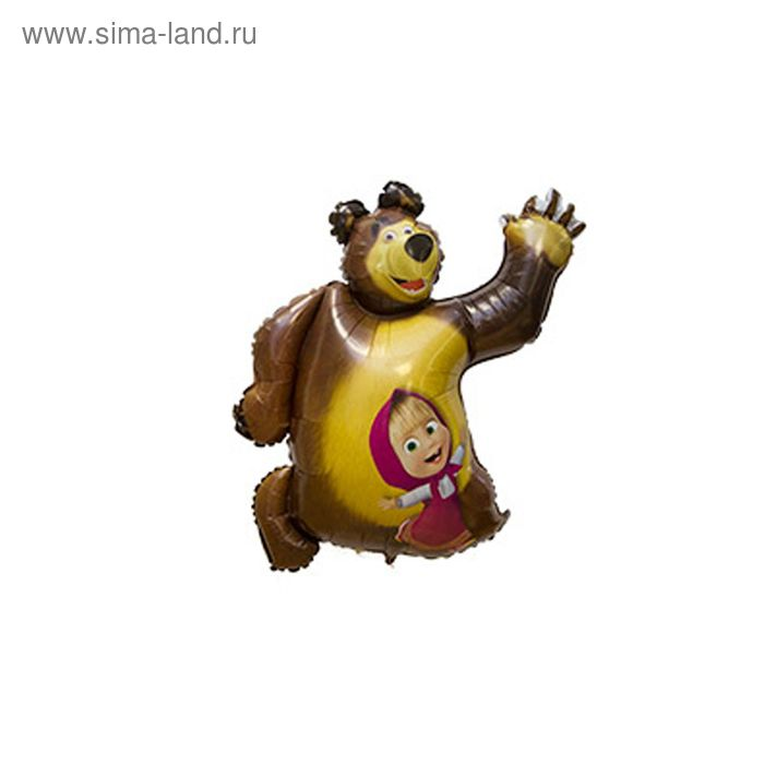 """Шар полимерный 35"""" """"Маша и Медведь"""""""