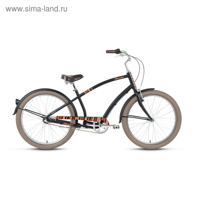 """Велосипед 26"""" Forward Surf 2.0, 2016, цвет черный мат, размер 17"""""""