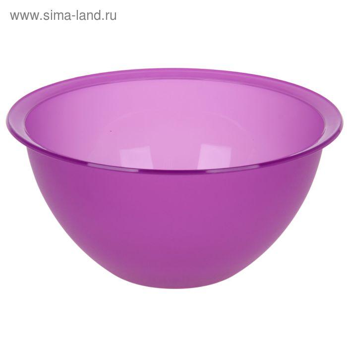 Миска 2 л, цвет МИКС