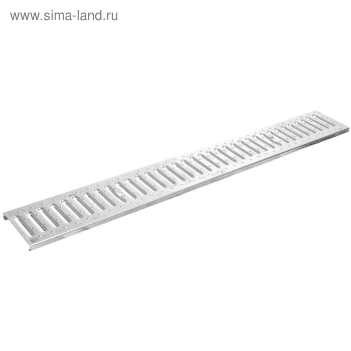 Решётка канала стальная 1,00м х 0,13м