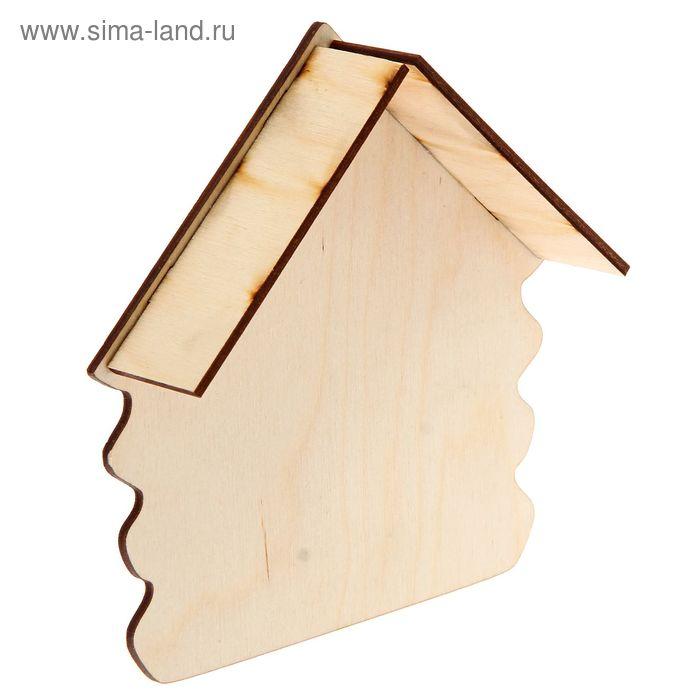 Ключница для декора с козырьком 14х15х2  см (80710)